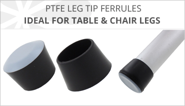 PTFE CHAIR LEG TIPS FERRULES